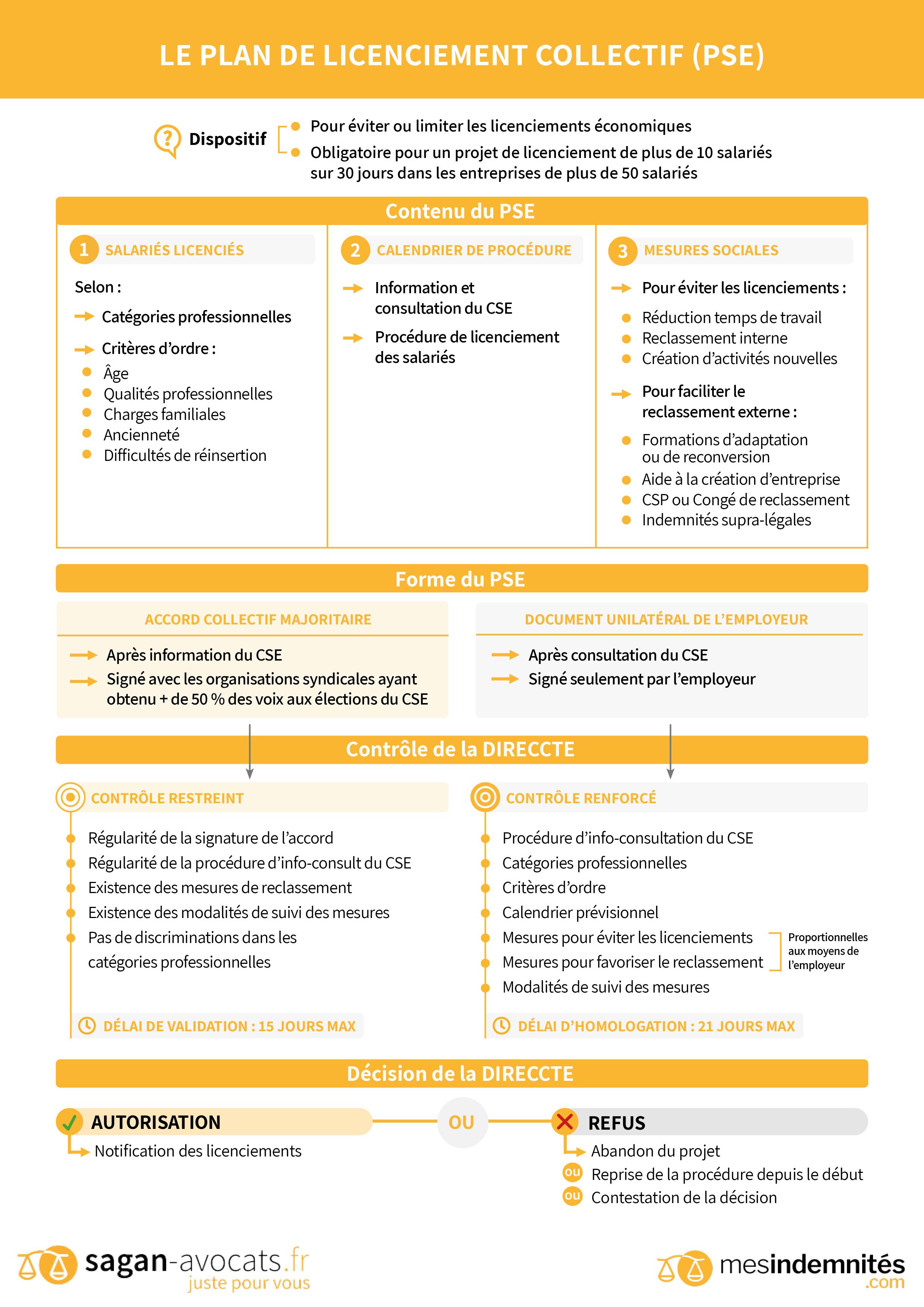 3. Le plan de licenciement collectif (PSE)