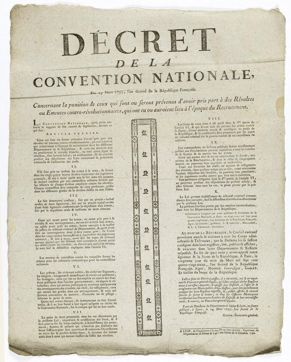 loi du 19 mars 1793