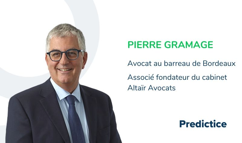 Interview de Pierre Gramage pour Predictice