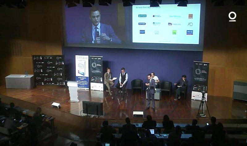 Predictice à la remise des prix Blue Ocean Awards Louis Larret-Chahine