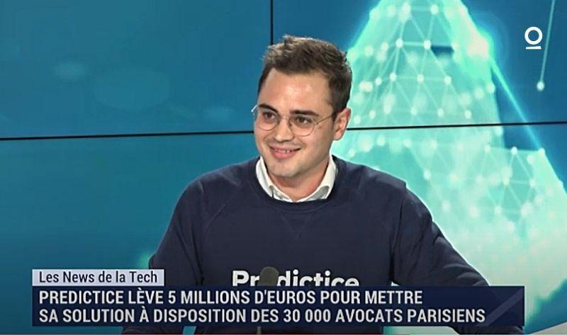 Louis Larret-Chahine Levée de fonds Predictice