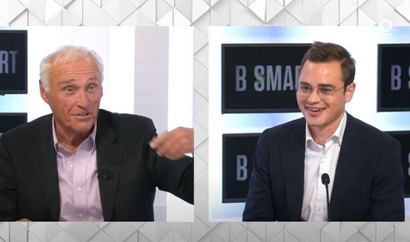 Louis Larret-Chahine, cofondateur de Predictice sur B Smart