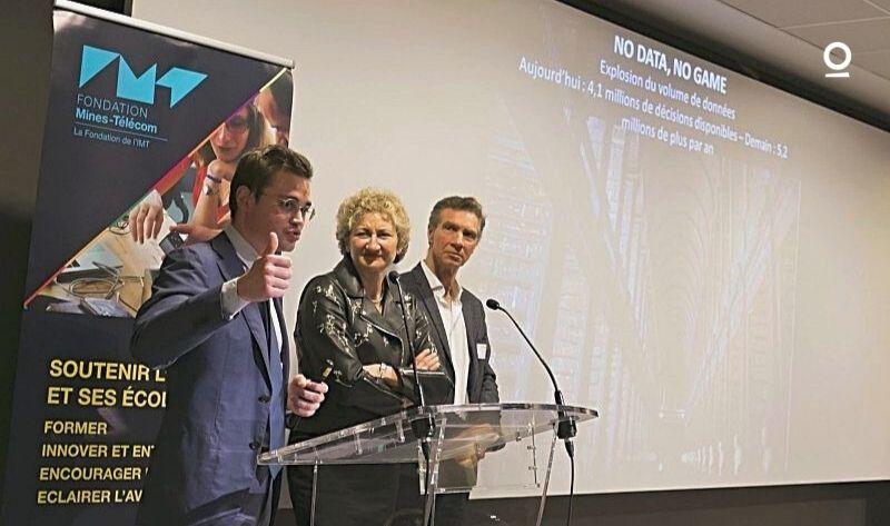 Louis Larret-Chahine, Predictice prix Mines ParisTech