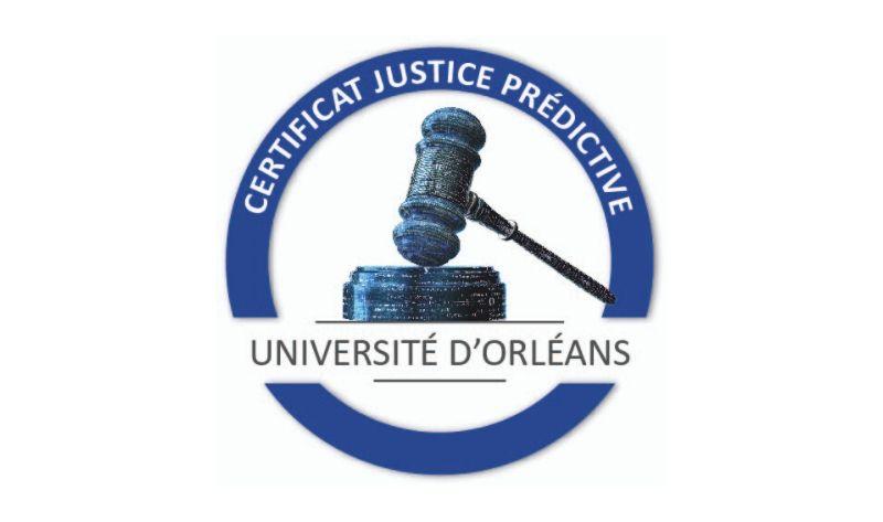 Certificat Justice prédictive université d'orléans