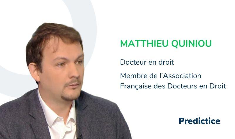 Matthieu Quiniou docteur en droit