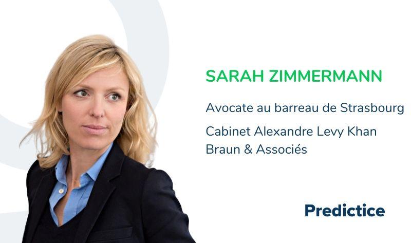 Maitre Sarah Zimmermann