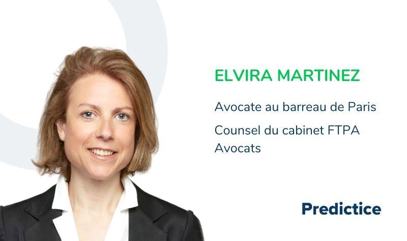 Maître Elvira Martinez, cabinet FTPA Avocats
