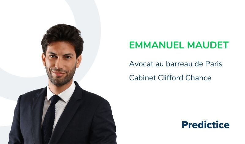 Emmanuel Maudet, Predictice, clifford chance
