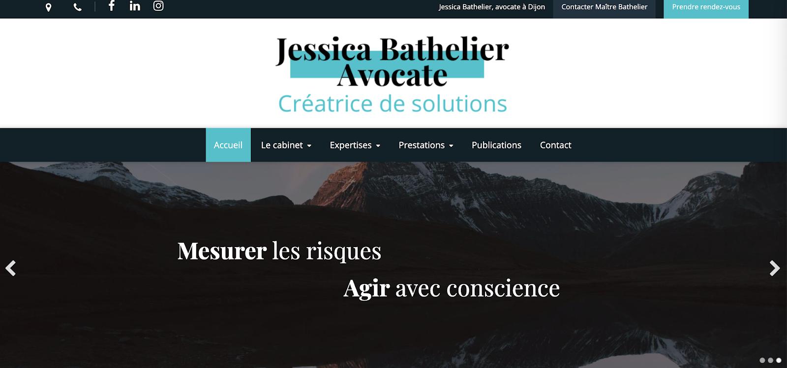 site Jessica Bathelier