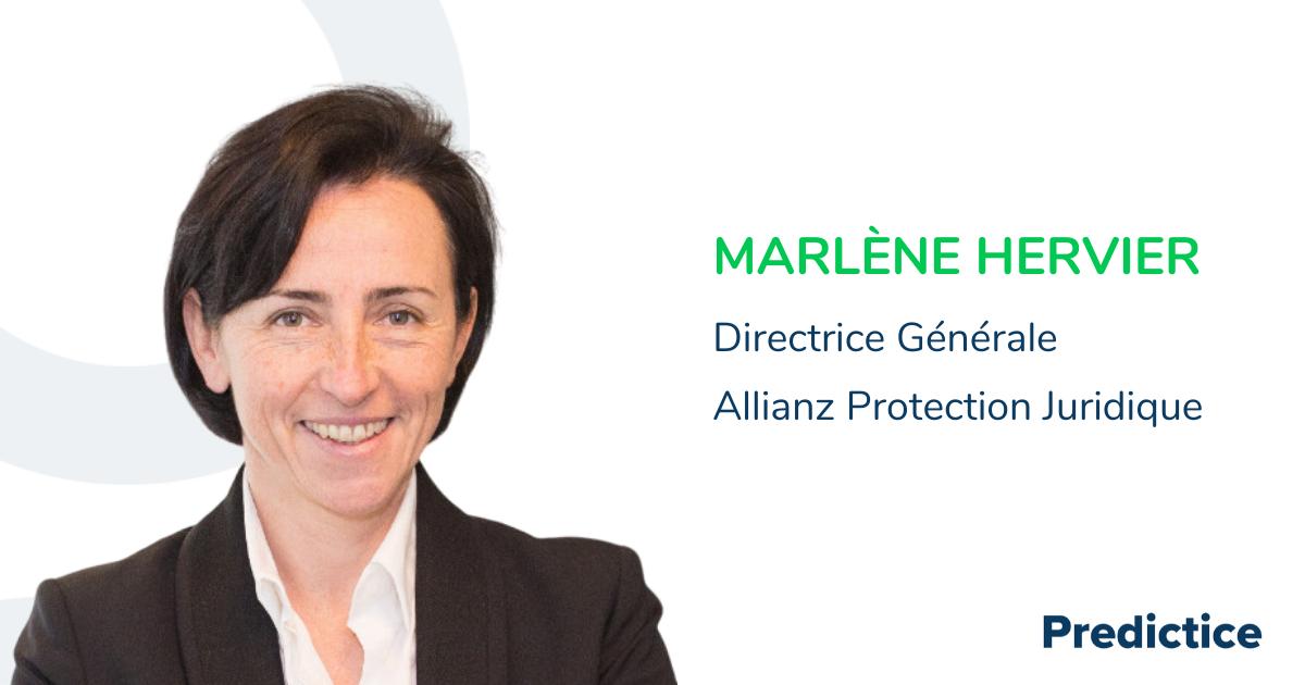Marlène Hervier, directrice générale Allianz protection juridique