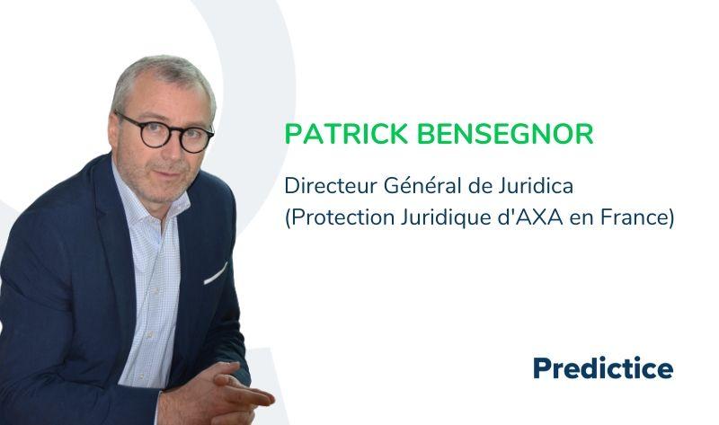 Patrick Bensegnor Protection juridique Axa Juridica