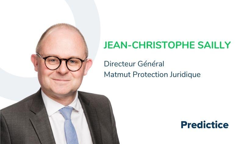 Jean-Christophe Sailly, Directeur général Matmut protection juridique