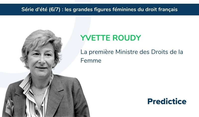 Yvette Roudy, série d'été Predictice