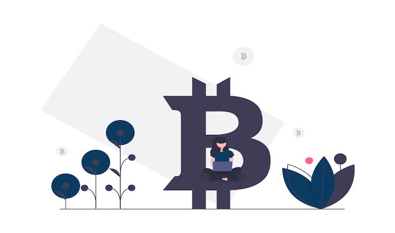 symbole du bitcoin