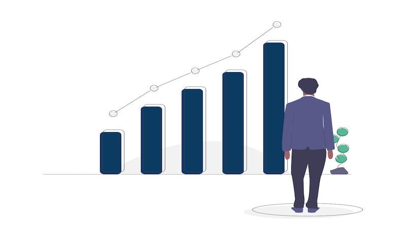 Illustration augmentation du chiffre d'affaires